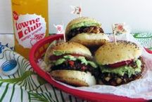 FOOD : Burger Recipes / The best burger recipes on the web! / by A Thrifty Mrs