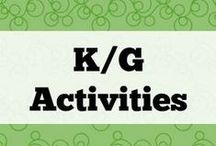 K/G Activities / All about phonemes K/G