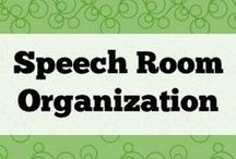 Speech Room Organization / Helping you stay sane.