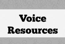 Voice resources