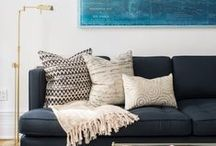 Pillows / Handcrafted pillows for the thoughtfully layered home.