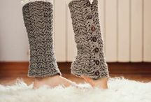 Knit legwarmers patterns / by Cynthia Coffield
