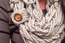 Scarf patterns / Knitted scarf patterns to stay warm in