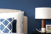 HOME : True blue / Beautiful blue shades in home decor. Do you love sky blue? Navy blue? A gorgeous aqua?