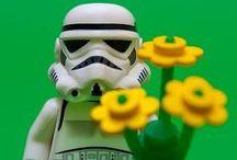 Star Wars - Lego / A Lego time ago in a galaxy far far away... / by Ben Pinches