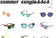 Sunglasses / Sunglasses. Polarized and happy lenses please. Bright Texas rays.