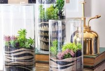 Candles & Tablescapes / Mason jar ideas. Candles and tablescapes