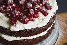 FOOD - Deserts / recipes for cakes, pies, muffins and others