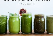Green Smoothie / Healthy and delicious green smoothie recipes to start your day with