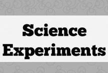 Science experiments / Quick and easy science projects to elicit language