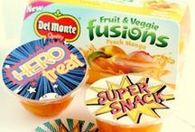 Super Lunch Box / Make lunch super for your little hero! With a little creativity and healthy lunch and snacking options, your superstar will love eating every last bite. / by Del Monte Brand