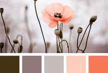 Interior Design: Paint Palettes / Paint palette ideas for the house