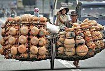 2 & 3 Wheels in Vietnam / Pictures of 2 & 3 wheels seen everyday in Vietnam