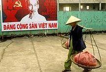 Vietnam Street Propaganda / Vietnamese Street Propaganda seen in Hanoi & HCMC