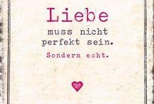 Sprüche / Zitate über die Liebe