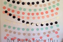 Party Ideas / Party decor ideas and photo booth backdrops.