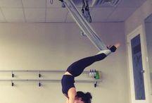 Aerials / Aerial dance, aerial yoga, trapeze, Lyra
