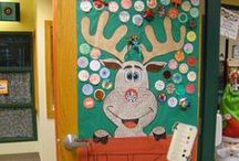 December Class Ideas / One of the most special times of the year with students because they're enthusiastic and happy. This board has seasonal and holiday lesson plans, activities, craftivities, gifts, and bulletin boards for December  / by Nancy Full