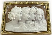 Detail of the CAMEO / by We three Pinners