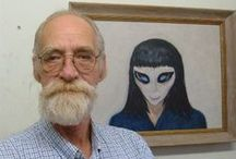 David Huggins: Abductee and artist.
