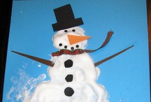 Preschool--Seasons: Winter crafts & Activities