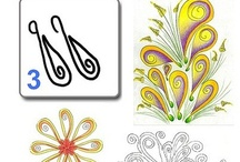 Zentangle Guides (and Zentangle Inspired Guides)  / Zentangle Doodles and how to draw them.  :)