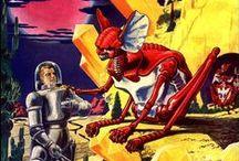Bonkers Sci-fi Illustration