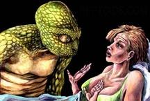 Lizardoids! / Reptoids, Dinoids, Dinosauroids, Draconians, Dracos, Deros, Archons, Reptiloids, Fishoids...