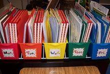 Preschool--Classroom Organization / by Rachel Merchant