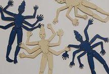 Marionnettes/PaperDolls / by Rosa Skizze
