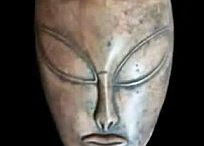 Alien Ancients? / Look! Look! Some things from the ancient world kinda resemble what we today believe aliens might be like!!!
