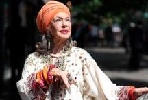 FASHION OVER 50 STREET STYLE / by Linda Postlewaite