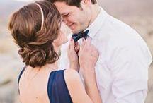 Cool Petrol Wedding / Stoer en heel charmant, met deze kleur kun je oneindig veel kanten op!
