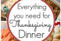 Let us give thanks.... Thanksgiving dinner and ideas / by We three Pinners