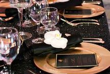Tablescapes / Fine dining.... style and beauty! / by We three Pinners