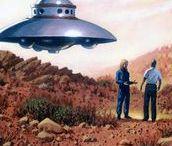 Flying Saucers Artwork