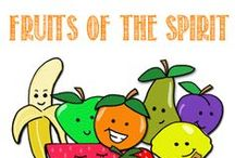 Preschool--Bible: Fruit of the Spirit