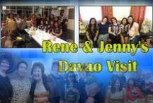 Rene & Jenny's Davao Visit :) ❤
