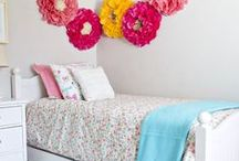 ROOMS - Girl's Bedrooms / Decor and design inspiration for little girl's, tweens and teenage bedrooms.