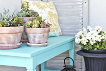 Outdoor Spaces / by Kristin B | Yellow Bliss Road