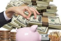 $$$ - Saving / Spending $$$ / by Yoli Lee