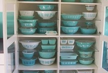 Vintage Glassware and Dishes: Fiestaware, Depression Glass and others / by gotcreativity