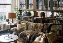 Apartment Design & Decor / Decor fitting for apartment-sized homes.