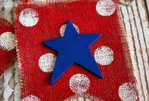 HOLIDAYS - Fourth of July / Fourth of July and Independence Day crafts, decor, food and party ideas.