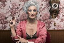 Aging with Dignity ; ) / Envelhecendo com DIGNIDADY -  advanced style inspired.... <3