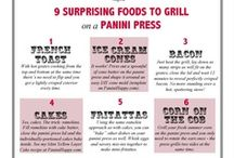 Recipes for Panini, Grill, Griddle or Press / by Shirlan Carter