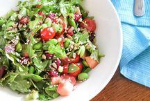 Salads / Salad, greens and healthy recipes