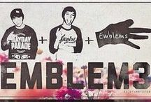 Emblem3 / Love these guys :) #Emblem / by Jenna Cooley