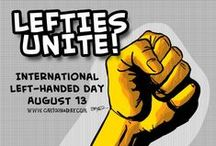 I'm a Lefty / by Shirlan Carter