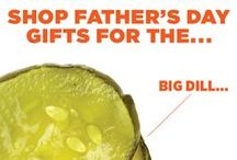 Father's Day Food Gifts / Dad's day is June 19th! Send him a tasty gift because, yes, Dad's gotta eat. And just for you, we've curated awesome artisanal goodies and indie spirits that are perfect for your favorite foodie father figures, plus digital gift certificates, monthly subscriptions, gift bags and more! / by MOUTH